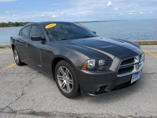 Used 2014 Dodge Charger SXT Low K's Heated Seats Bluetooth Rear Cam for sale in Belle River, ON