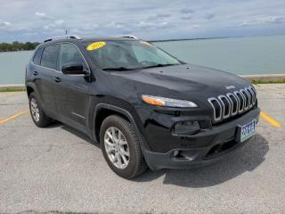 Used 2016 Jeep Cherokee North Low K's 4x4 Moon Roof Bluetooth Rear Cam for sale in Belle River, ON