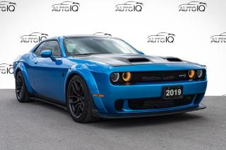 Used 2019 Dodge Challenger SRT Hellcat WIDE BODY REDEYE | SUNROOF | HARMAN KARDON SOUND |  SATIN BLACK ACCENTS for sale in Innisfil, ON