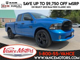 New 2021 RAM 1500 Classic Night Edition Sub Zero 4x4...V6*HTD SEATS*TOW! for sale in Bancroft, ON