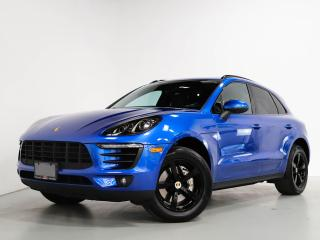 Used 2017 Porsche Macan S I PREM PKG I VENTED SEATS I CLEAN CARFA for sale in Vaughan, ON