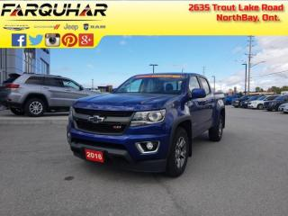 Used 2016 Chevrolet Colorado 4WD Z71 -  Touch Screen - $227 B/W for sale in North Bay, ON