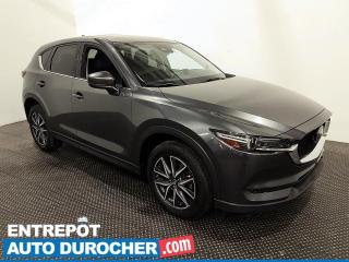Used 2018 Mazda CX-5 GT - Navigation - Toit Ouvrant - Climatiseur - for sale in Laval, QC