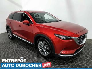 Used 2017 Mazda CX-9 GT - AWD - 7 Passagers - Navigation - Climatiseur for sale in Laval, QC