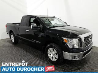 Used 2018 Nissan Titan SV - V8 - AWD - Navigation - Climatiseur for sale in Laval, QC