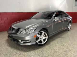 Used 2010 Mercedes-Benz S-Class S450 V8 4MATIC AMG NAVI CAMERA BLUETOOTH for sale in North York, ON