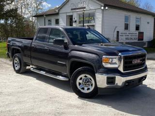 Used 2015 GMC Sierra 1500 No-Accidents 4WD Double Cab Backup Cam Tow Pkg Bluetooth for sale in Sutton, ON