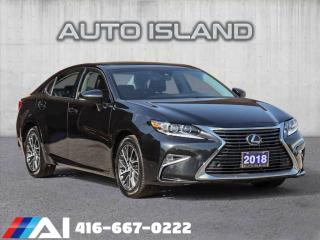 Used 2018 Lexus ES 350 NAVIGATION**BLIND SPOT**ONLY 43KM'S!! for sale in North York, ON