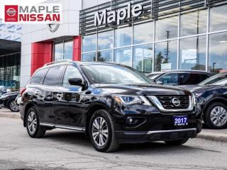 Used 2017 Nissan Pathfinder SL 4x4 Navi Bluetooth Blind Spot Moonroof Remote for sale in Maple, ON