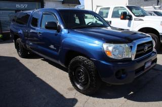 Used 2007 Toyota Tacoma SR5 Access Cab MANUAL TRANSMISSION for sale in Mississauga, ON