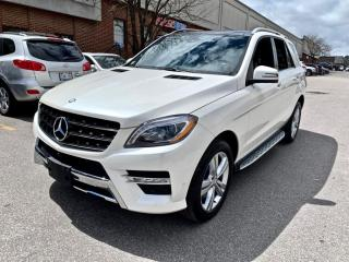 Used 2014 Mercedes-Benz ML-Class 4MATIC 4dr ML350 BlueTEC, NAV, PANO ROOF for sale in North York, ON