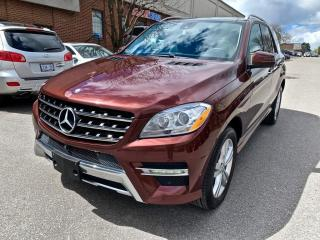 Used 2014 Mercedes-Benz ML-Class 4MATIC 4dr ML350 BlueTEC, NO ACCIDNET for sale in North York, ON