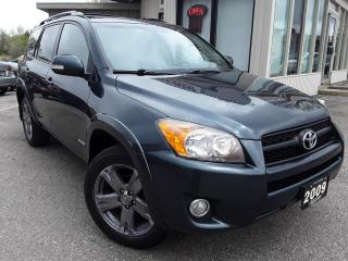 Used 2009 Toyota RAV4 Sport I4 2WD -  BACK-UP CAM! SUNROOF! CERTIFIED! for sale in Kitchener, ON
