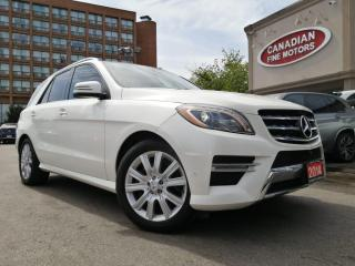 Used 2014 Mercedes-Benz ML 350 DIESEL   LED   NAVI   CAM   PANO ROOF   AWD   PDC   for sale in Scarborough, ON
