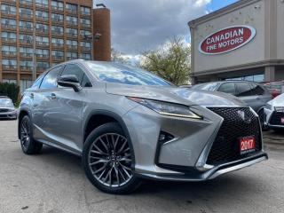 Used 2017 Lexus RX 350 F SPORTS PKG | RED INT | NAVI | CAM | ROOF | AWD | for sale in Scarborough, ON