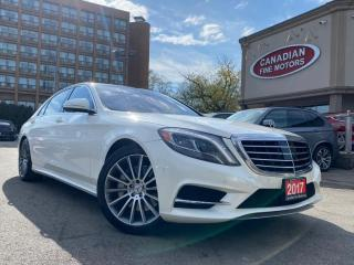 Used 2017 Mercedes-Benz S550 LWB   ONE OWNER   TONS OF OPTIONS   4 MATIC   for sale in Scarborough, ON