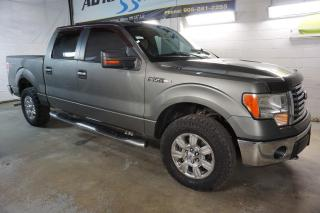 Used 2010 Ford F-150 V8 XTR 4X4 SUPER CREW CERTIFIED 2YR WARRANTY*FREE ACCIDENT* RUNNING BOARD CRUISE CHROME for sale in Milton, ON