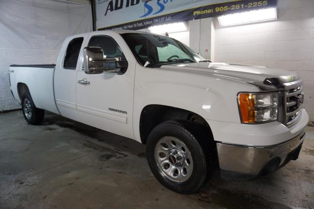 2011 GMC Sierra 1500 V8 SLE 4x4 LONG BED CERTIFIED 2YR WARRANTY *1 OWNER*FREE ACCIDENT* BLUETOOTH CRUISE CHROME