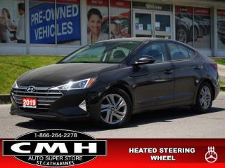 Used 2019 Hyundai Elantra Preferred  CAM BLIND-SPOT HTD-S/W 16-AL for sale in St. Catharines, ON