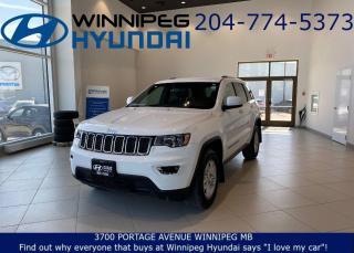 Used 2018 Jeep Grand Cherokee Laredo for sale in Winnipeg, MB