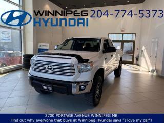 Used 2017 Toyota Tundra SR5 Plus for sale in Winnipeg, MB
