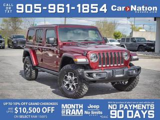 Used 2021 Jeep Wrangler Unlimited Rubicon 4x4| COMPANY DEMO| SKY TOP| for sale in Burlington, ON