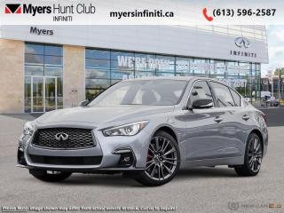 Used 2021 Infiniti Q50 Red Sport 400 i-LINE ProACTIVE for sale in Ottawa, ON