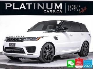 Used 2018 Land Rover Range Rover Sport SUPERCHARGED DYNAMIC 510HP, V8, NAV, CAM, HEATED for sale in Toronto, ON
