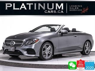 Used 2018 Mercedes-Benz E-Class E400 4MATIC CONVERTIBLE, AMG PKG, DISTRONIC PLUS for sale in Toronto, ON