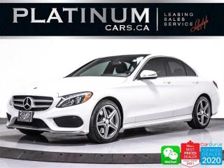 Used 2015 Mercedes-Benz C-Class C300 4MATIC, AWD, NAV, PANO, CAM, HEATED, BT for sale in Toronto, ON