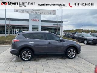 Used 2017 Toyota RAV4 AWD Limited  - Navigation -  Sunroof - $179 B/W for sale in Ottawa, ON