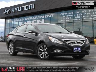 Used 2012 Hyundai Sonata Limited  - Sunroof -  Leather Seats - $150 B/W for sale in Nepean, ON