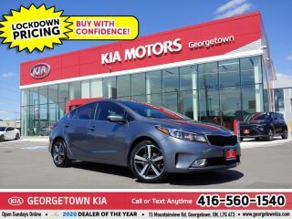 Used 2018 Kia Forte EX+ | 1 OWNR| CLN CRFX| SUNROOF| BU CAM | B/T| 66K for sale in Georgetown, ON
