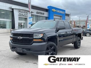 Used 2017 Chevrolet Silverado 1500 Work Truck / CREW CAB / 5.3L V8 / 4X4 / for sale in Brampton, ON