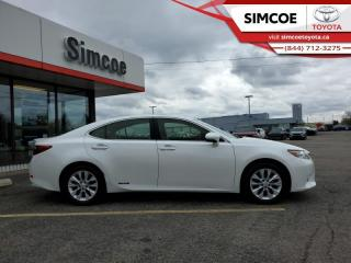 Used 2014 Lexus ES 300 h Technology for sale in Simcoe, ON