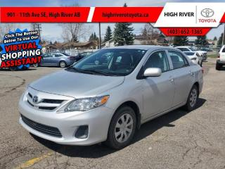 Used 2013 Toyota Corolla CE  -  Power Windows -  Power Doors for sale in High River, AB