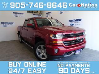 Used 2018 Chevrolet Silverado 1500 LT |4X4 |CREW CAB |Z71 PKG | TOUCHSCREEN|20'' RIMS for sale in Brantford, ON