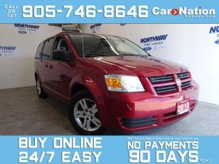 Used 2010 Dodge Grand Caravan SE | STOW N GO | ALLOYS | 7 PASSENGER | LOW KMS for sale in Brantford, ON