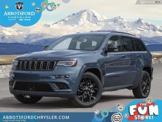 New 2021 Jeep Grand Cherokee Limited X  - Leather Seats - $540 B/W for sale in Abbotsford, BC