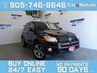 Used 2012 Toyota RAV4 SPORT | SUNROOF | 4X4 | ALLOYS | ONLY 58 KM! for sale in Brantford, ON