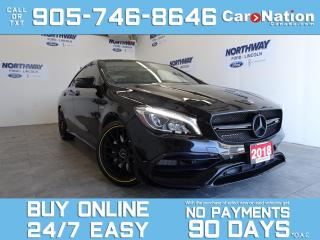 Used 2018 Mercedes-Benz CLA-Class AMG CLA45 | 4MATIC | AMG PERFORMANCE STUDIO PKG for sale in Brantford, ON