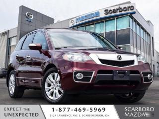 Used 2012 Acura RDX AWD TECH PKG LEATHER NAV CLEAN CARFAX for sale in Scarborough, ON
