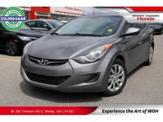 Used 2012 Hyundai Elantra 4DR SDN AUTO GL for sale in Whitby, ON
