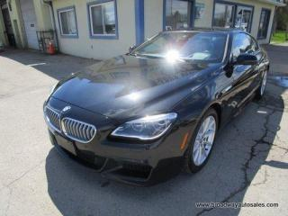 Used 2018 BMW 650i ALL-WHEEL DRIVE COUPE-EDITION 4.4L - V8.. X-DRIVE.. NAVIGATION.. LEATHER.. HEATED/AC SEATS.. POWER SUNROOF.. BACK-UP CAMERA.. BLUETOOTH.. for sale in Bradford, ON
