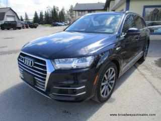 Used 2017 Audi Q7 ALL-WHEEL DRIVE PRESTIGE EDITION 7 PASSENGER 3.0L - DIESEL.. BENCH & THIRD ROW.. NAVIGATION.. LEATHER.. HEATED/AC SEATS.. POWER SUNROOF.. for sale in Bradford, ON