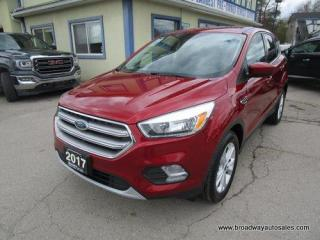 Used 2017 Ford Escape FOUR-WHEEL DRIVE SE EDITION 5 PASSENGER 1.5L - ECO-BOOST.. HEATED SEATS.. BACK-UP CAMERA.. BLUETOOTH SYSTEM.. KEYLESS ENTRY.. for sale in Bradford, ON