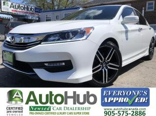 Used 2017 Honda Accord SPORT-HEATED SEATS-BACKUP CAM-SUNROOF-APPLE CARPLAY! for sale in Hamilton, ON