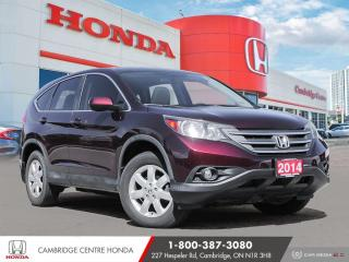 Used 2014 Honda CR-V EX BLUETOOTH | REARVIEW CAMERA | ECON MODE for sale in Cambridge, ON