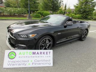 Used 2016 Ford Mustang CALIFORNIA SPECIAL, AUTO, INSPECTED, WARRANTY, FINANCING for sale in Surrey, BC