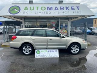 Used 2005 Subaru Outback RELIABLE 3.0L MOTOR VDC LOADED! SERVICE RECORDS! VERY NICE! FREE BCAA & WRNTY for sale in Langley, BC